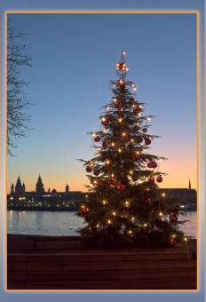 Weihnachten am Rhein
