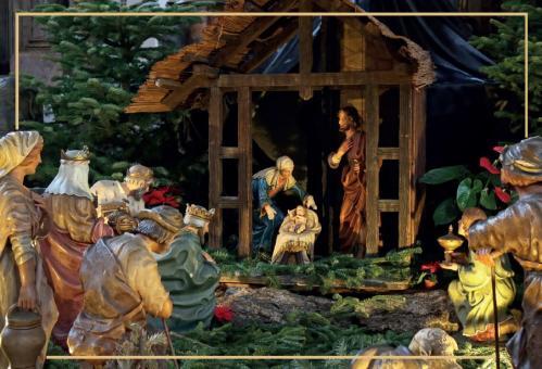 Weihnachtskrippe von St. Ignaz in Mainz