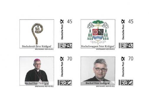 Briefmarkenset Peter Kohlgraf - Bischof von Mainz