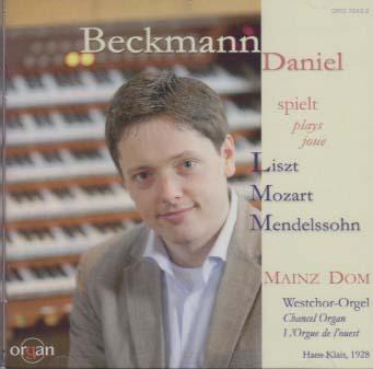Daniel Beckmann spielt Liszt, Mozart, Mendelssohn