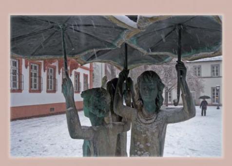 Mädchenbrunnen auf dem Mainzer Ballplatz