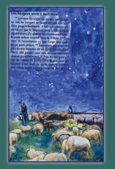 """Hirten """"Les bergers vont à Bethléem"""""""