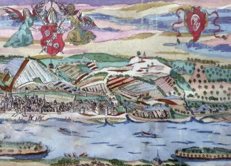 Ansicht von Mainz um 1620