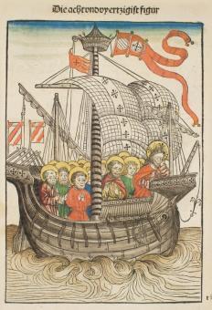 Das Schiff der Kirche