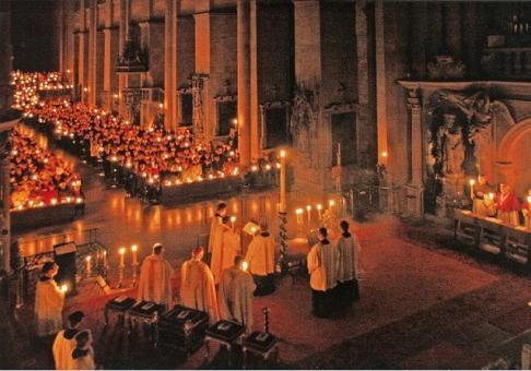 Osternacht im Mainzer Dom