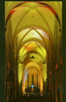 """""""Schöpfung im Licht"""" im Mainzer Dom"""