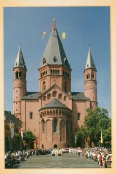 Der Mainzer Dom von Osten