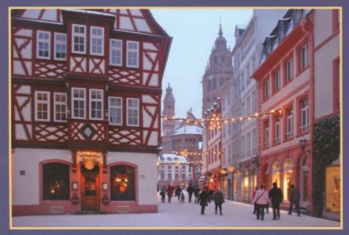 In der Altstadt von Mainz