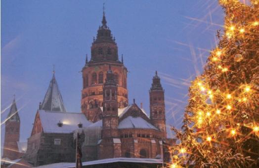 Weihnachtsabend am Mainzer Dom