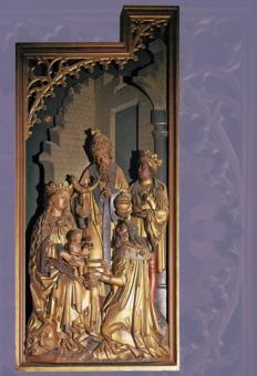Schrein des Marienaltars im Dom zu Mainz
