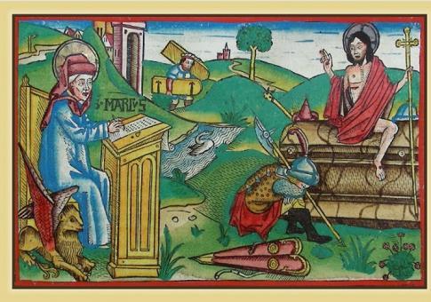 Der Evangelist Markus berichtet vom Osterereignis