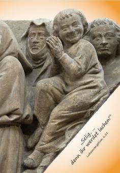 Die Gruppe der Seligen vom Westlettner des Mainzer Doms