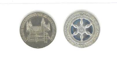 Münze Domjubiläum 1975