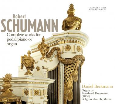 Robert Schumann, Complete works for pedal piano or organ